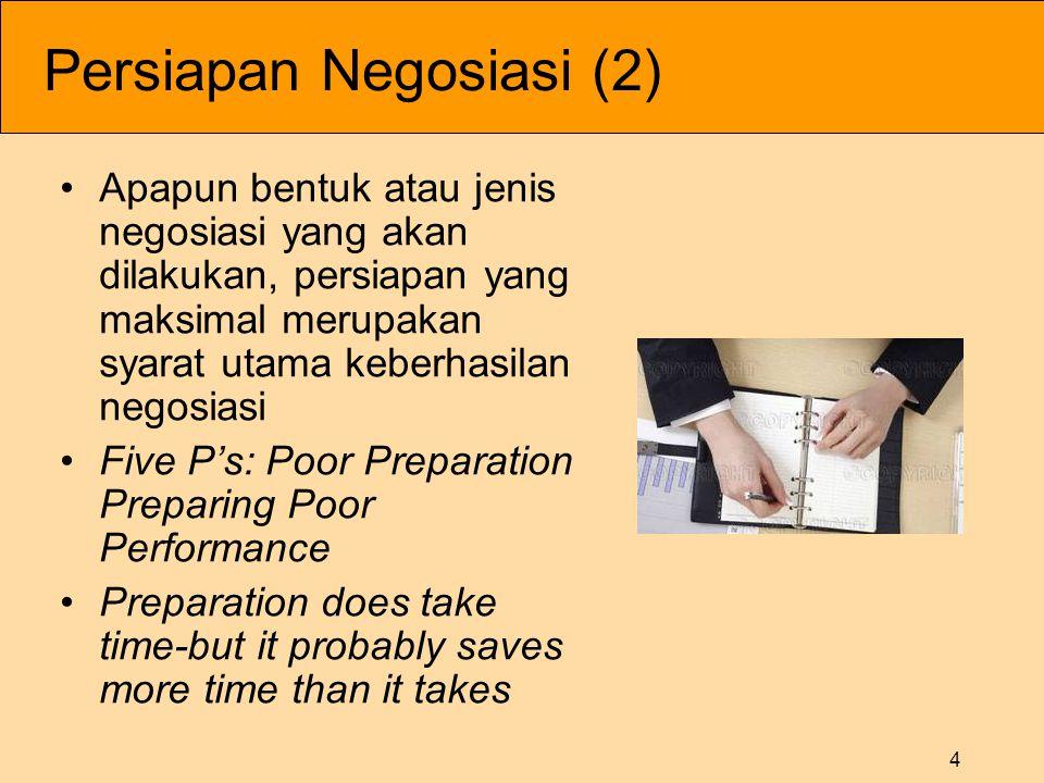 Persiapan Negosiasi (2)