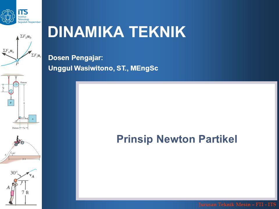 Prinsip Newton Partikel
