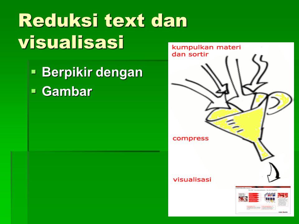 Reduksi text dan visualisasi