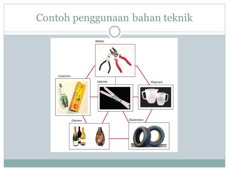 Contoh penggunaan bahan teknik