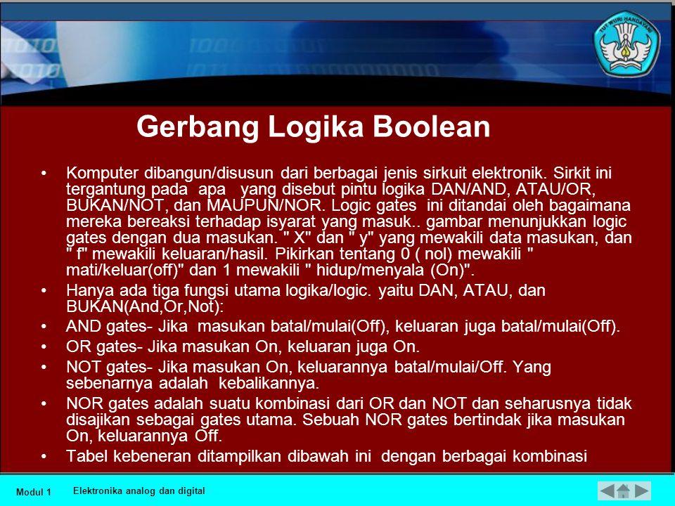 Gerbang Logika Boolean