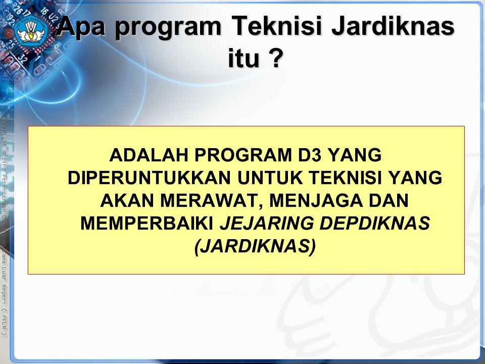 Apa program Teknisi Jardiknas itu