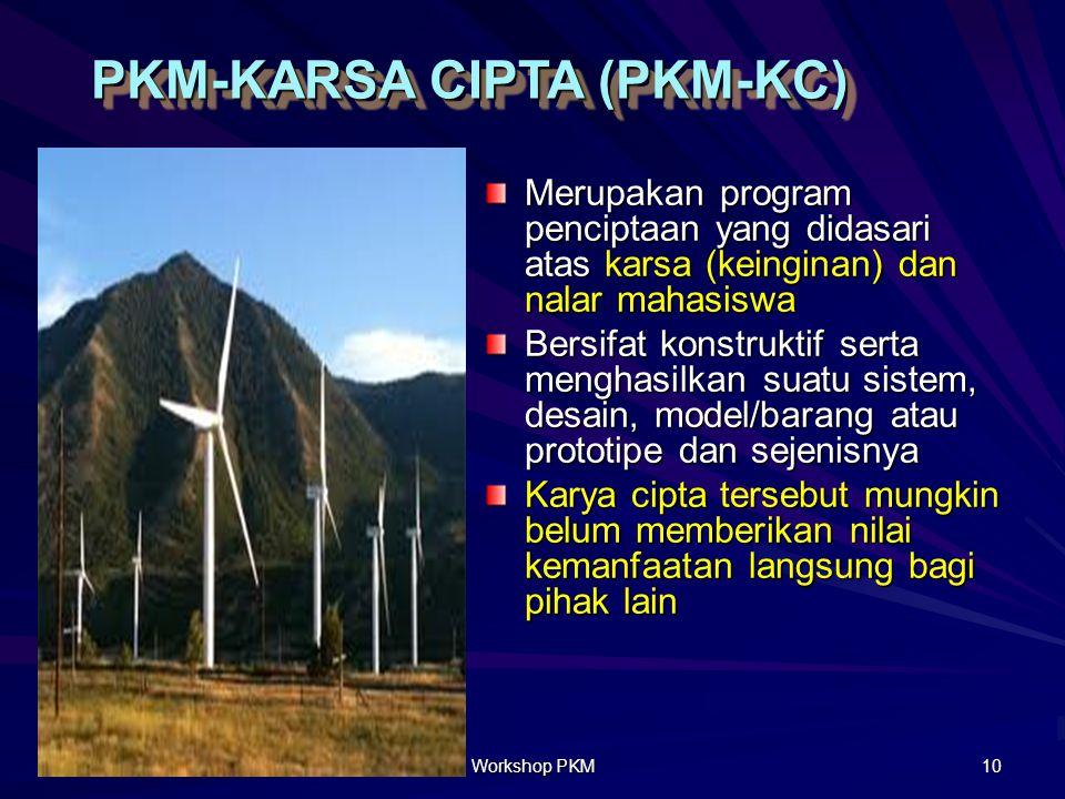 PKM-KARSA CIPTA (PKM-KC)