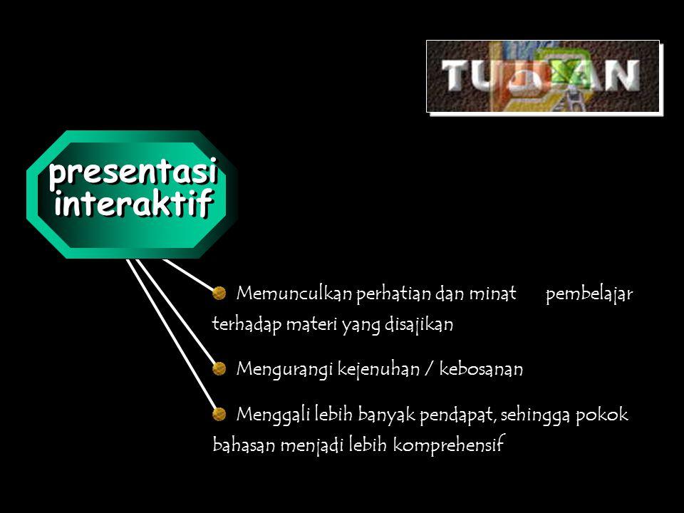 presentasi interaktif