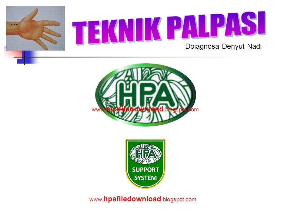 TEKNIK PALPASI Doiagnosa Denyut Nadi www.hpafiledownload.blogspot.com