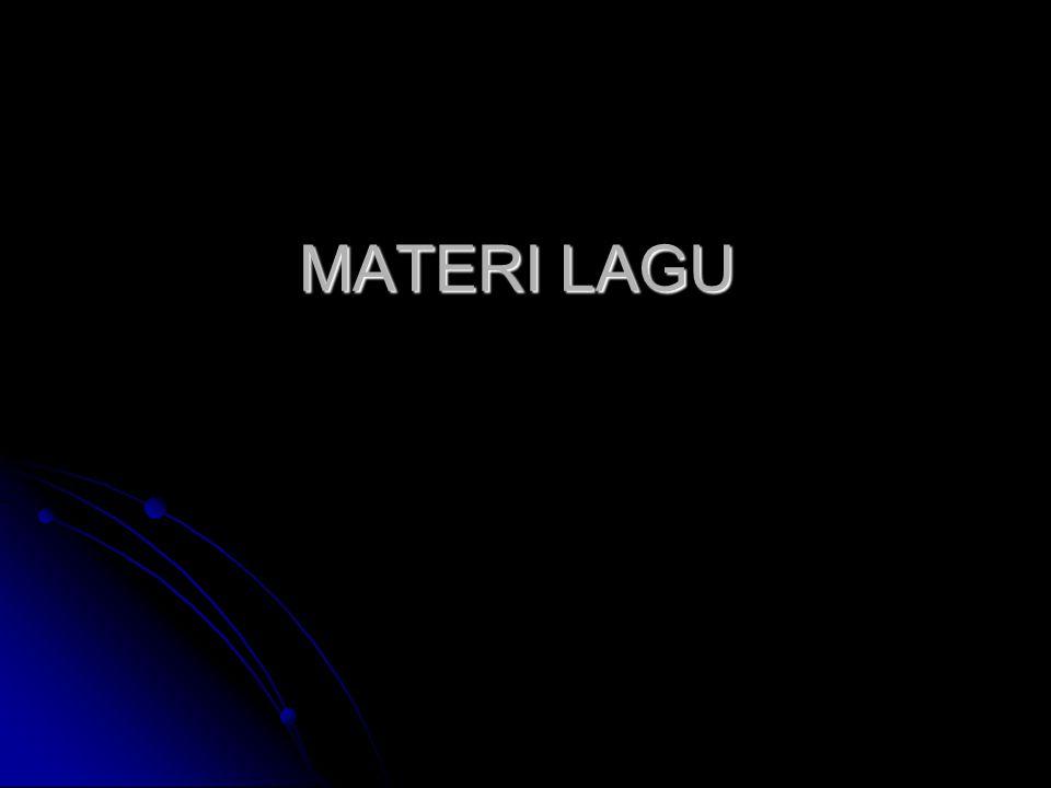 MATERI LAGU