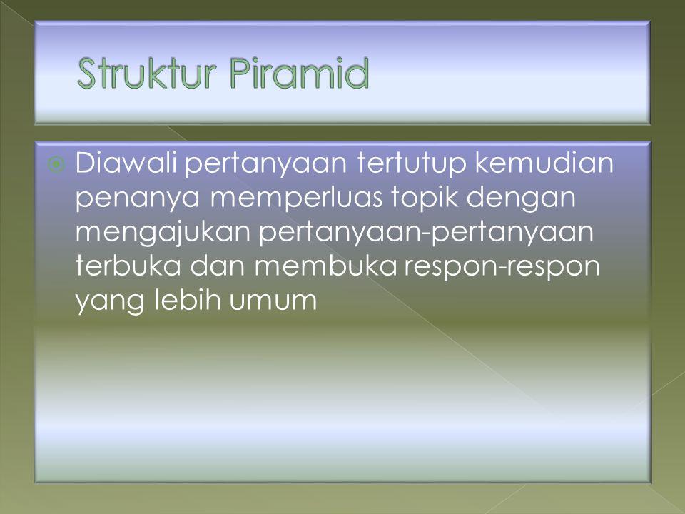 Struktur Piramid