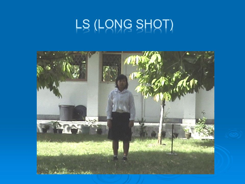 LS (LONG SHOT)