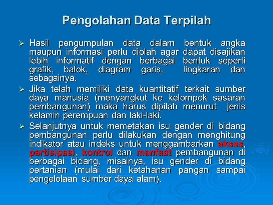 Pengolahan Data Terpilah