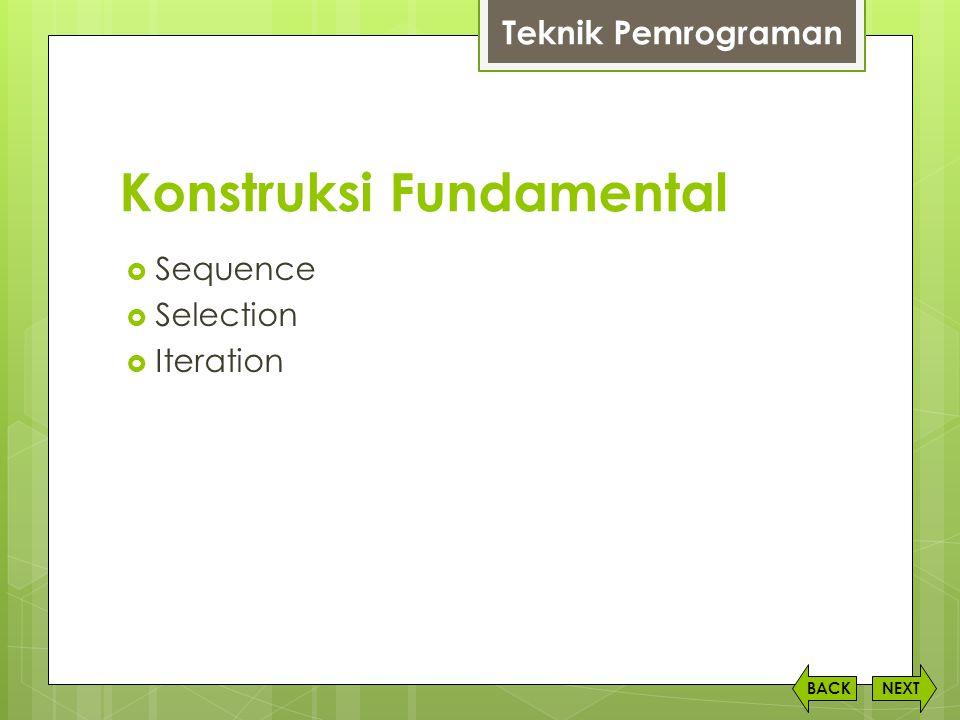 Konstruksi Fundamental