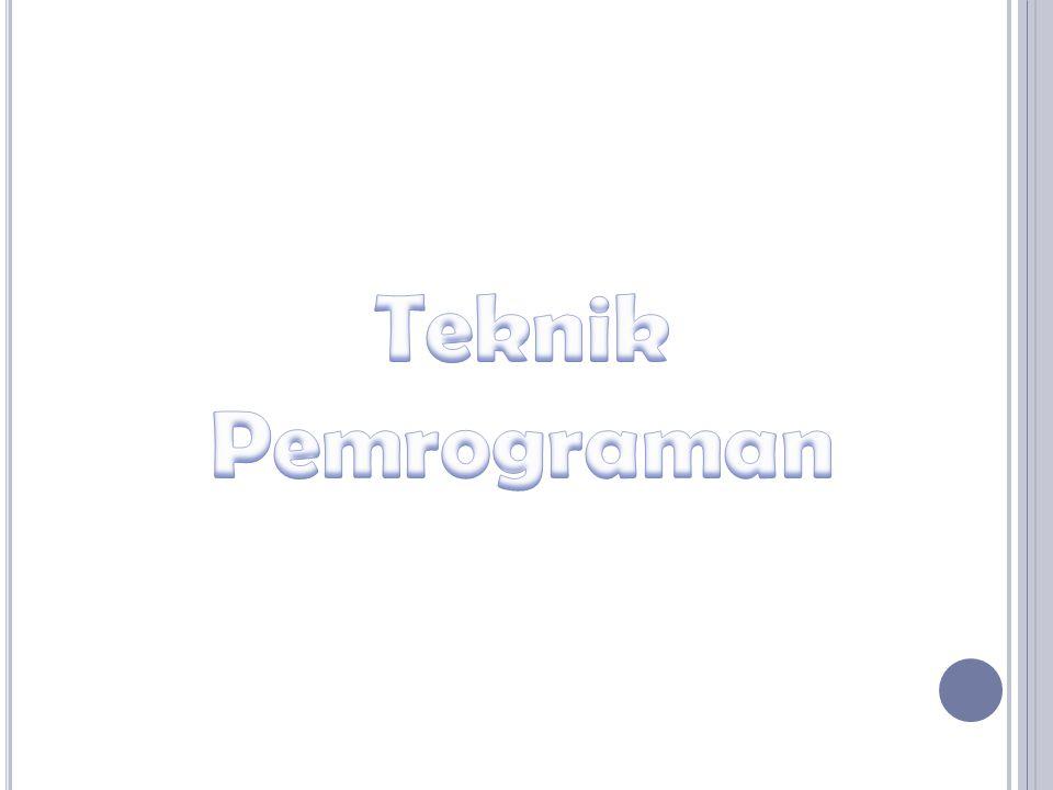 Teknik Pemrograman