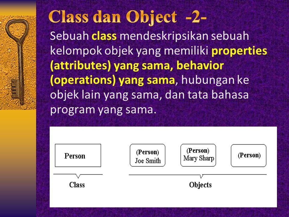 Class dan Object -2-