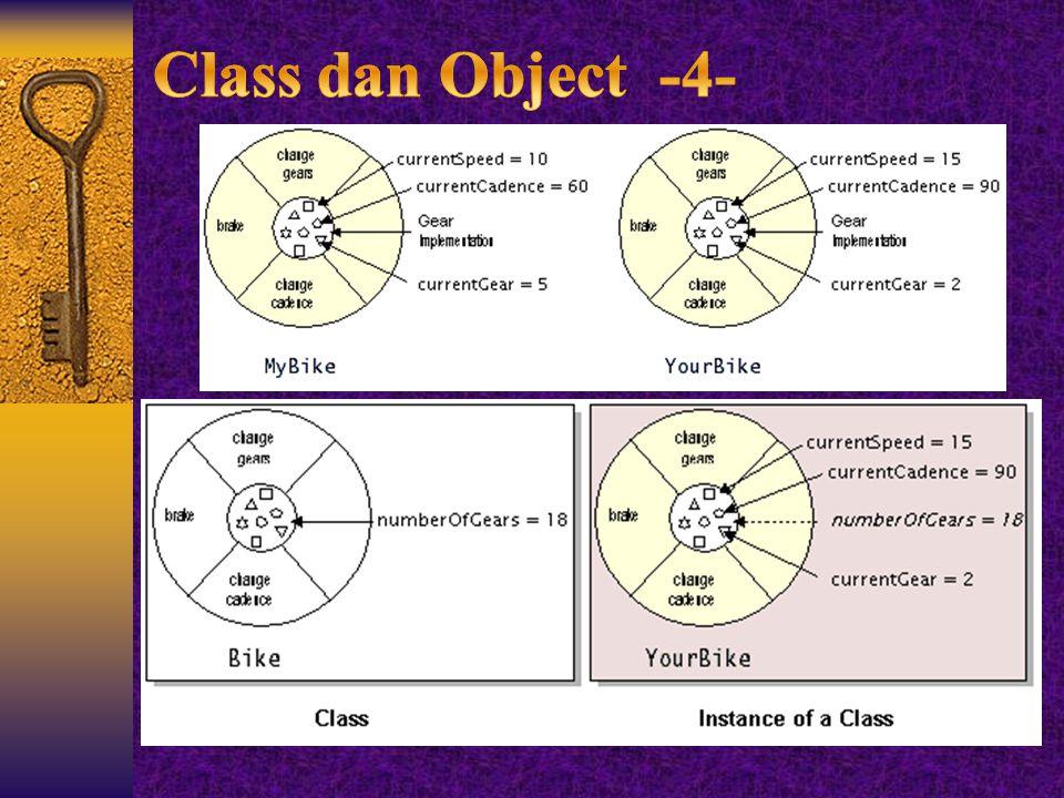 Class dan Object -4-