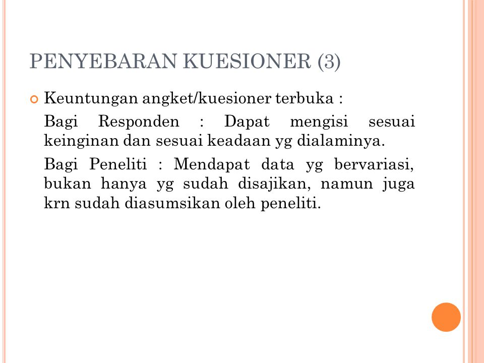 PENYEBARAN KUESIONER (3)