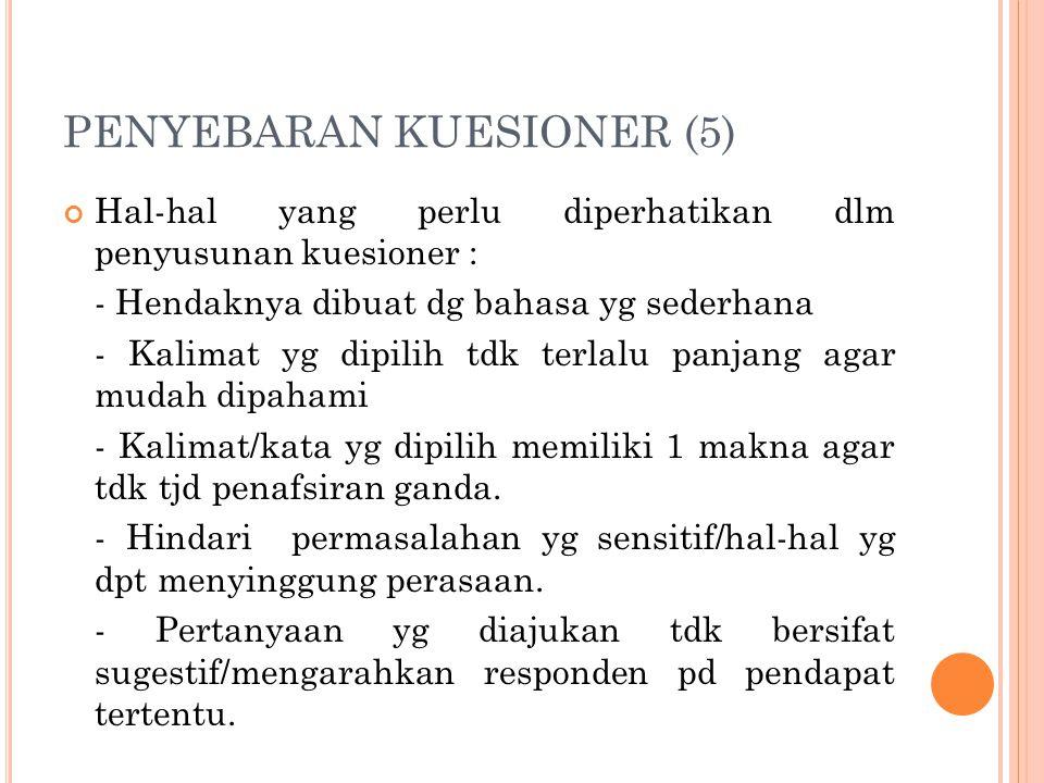 PENYEBARAN KUESIONER (5)