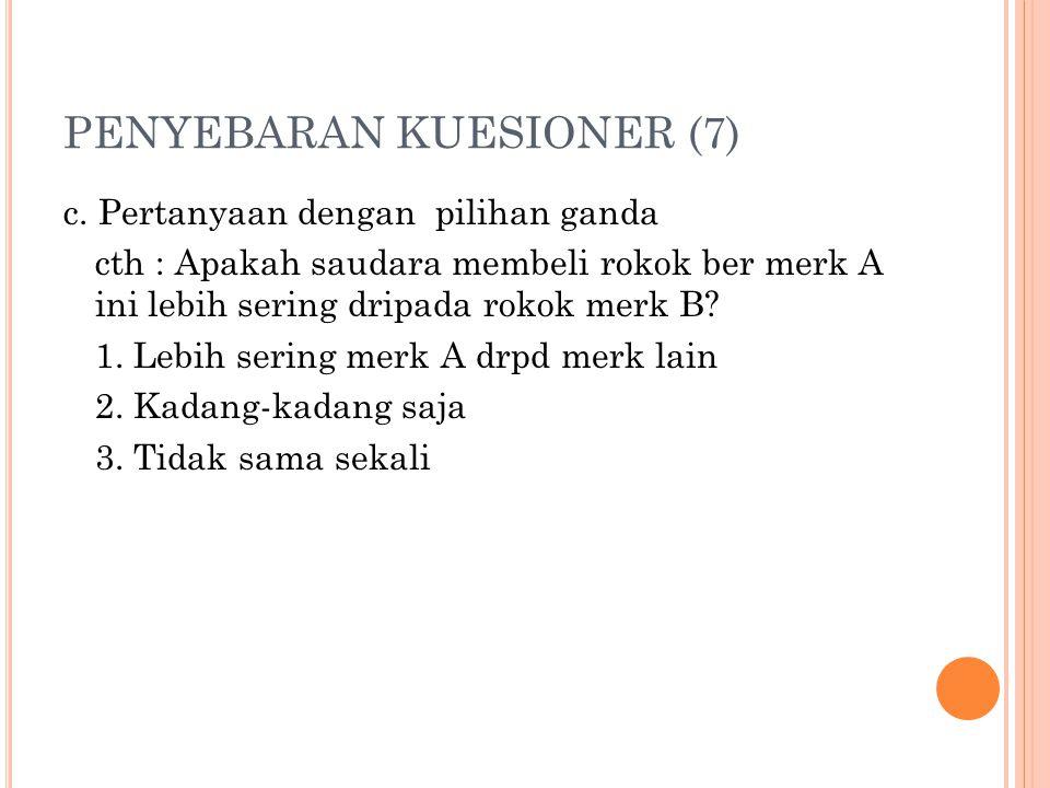PENYEBARAN KUESIONER (7)