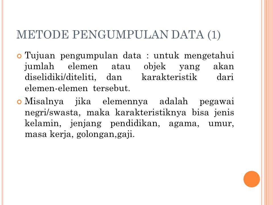 METODE PENGUMPULAN DATA (1)