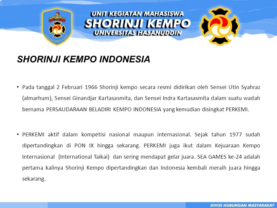 SHORINJI KEMPO INDONESIA