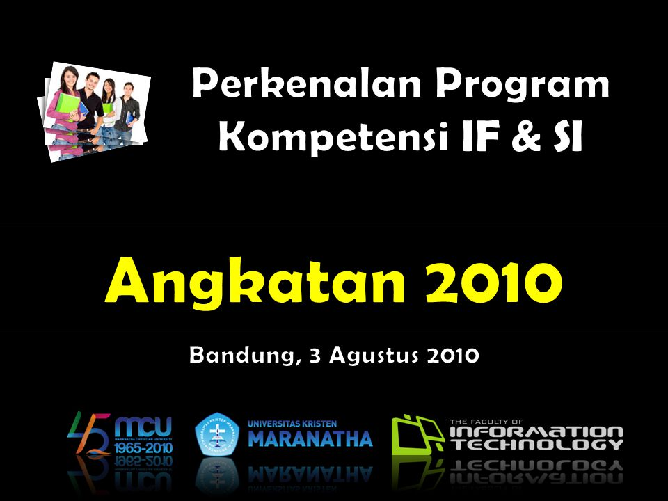 Perkenalan Program Kompetensi IF & SI