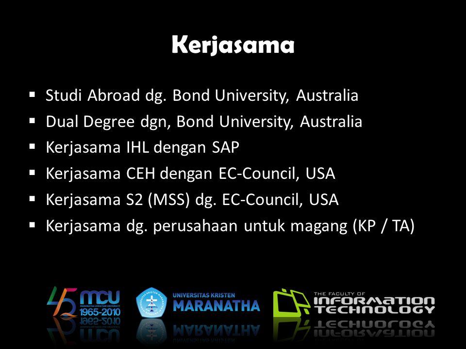 Kerjasama Studi Abroad dg. Bond University, Australia