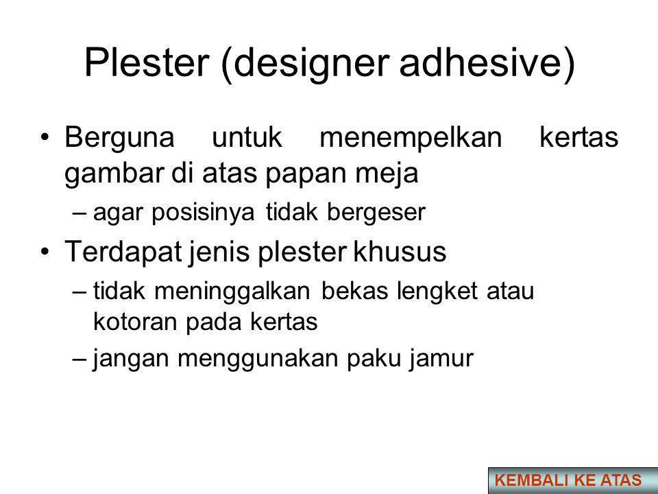 Plester (designer adhesive)