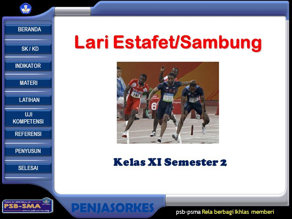 Lari Estafet/Sambung Kelas XI Semester 2