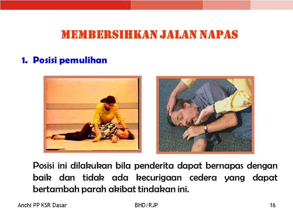 Membersihkan Jalan Napas