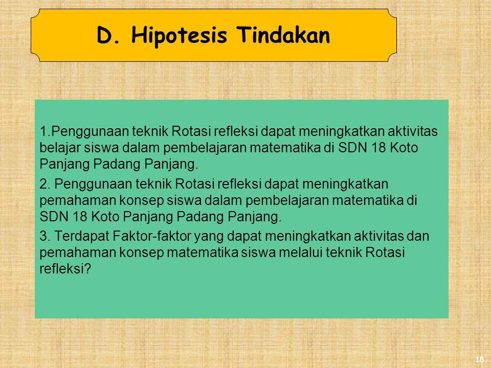 4/4/2017 D. Hipotesis Tindakan.
