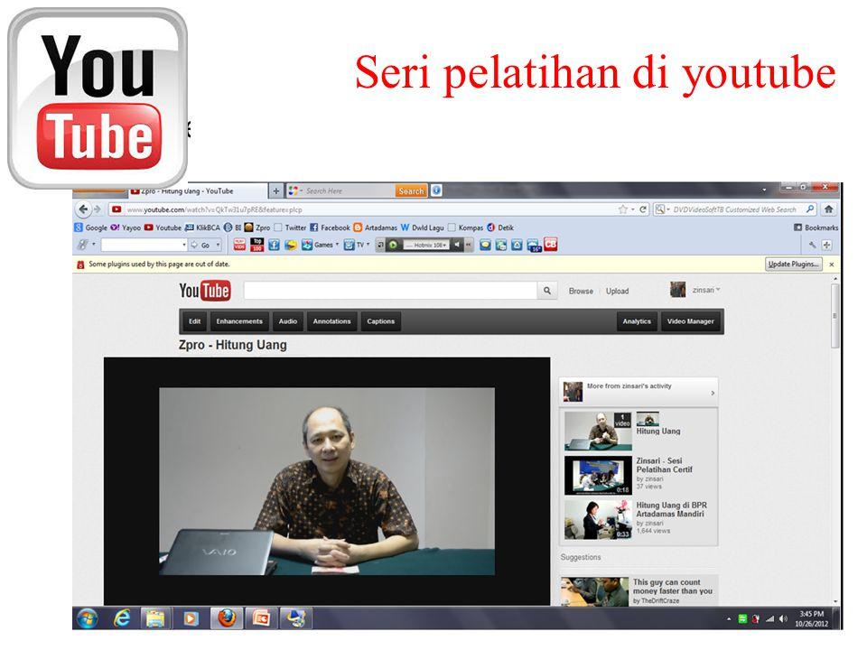 Seri pelatihan di youtube