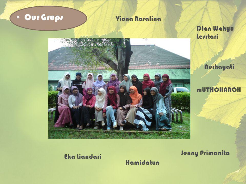 Our Grups Viona Rosalina Dian Wahyu Lesrtari Nurhayati mUTHOHAROH