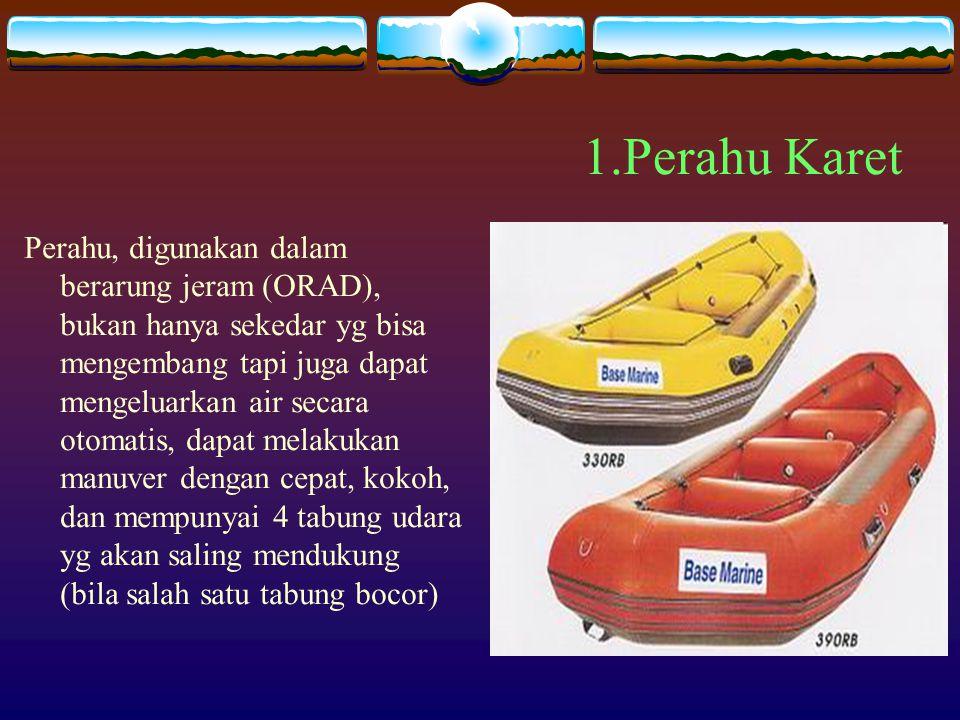 1.Perahu Karet