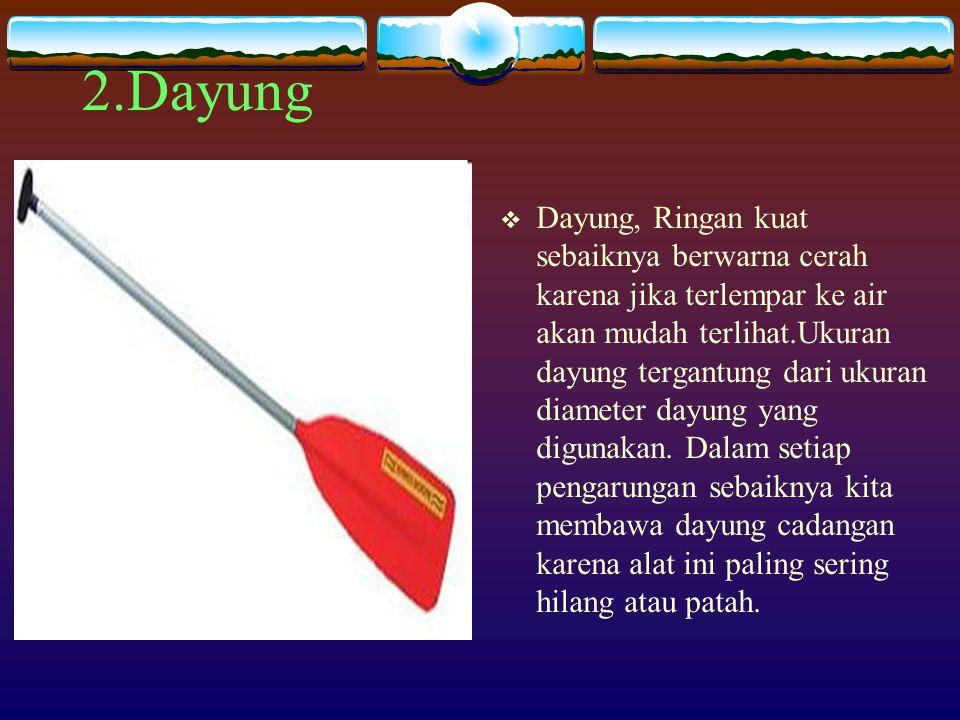 2.Dayung