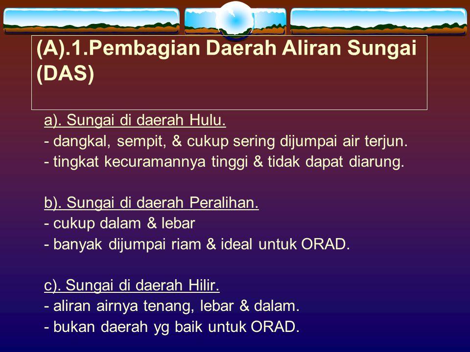 (A).1.Pembagian Daerah Aliran Sungai (DAS)