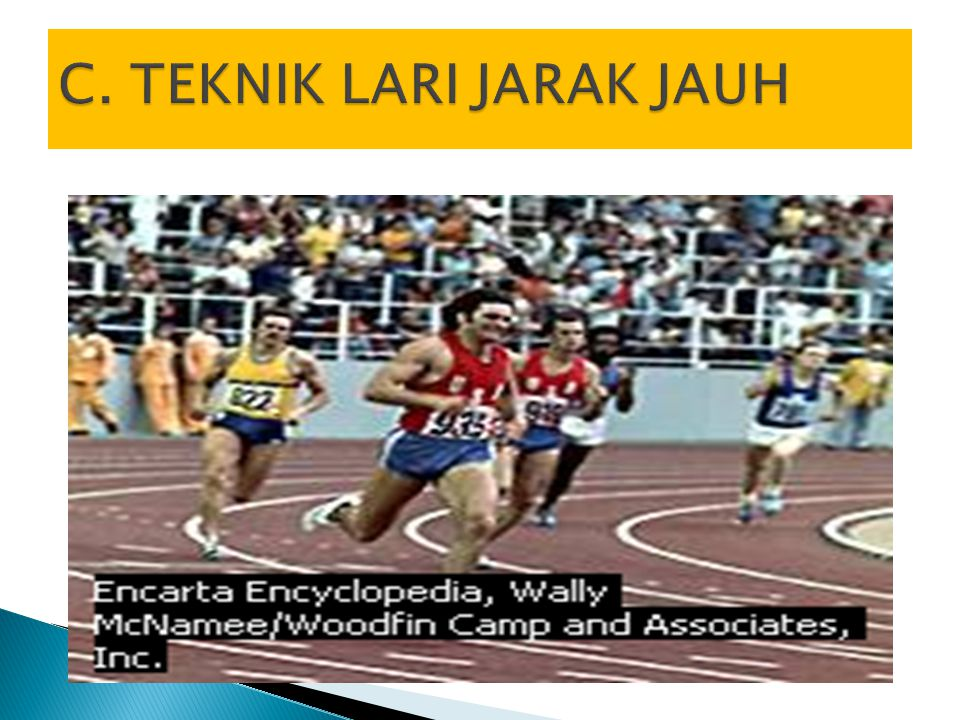 C. TEKNIK LARI JARAK JAUH