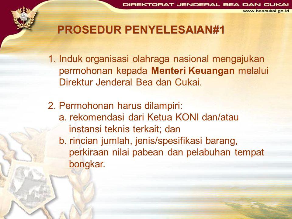 PROSEDUR PENYELESAIAN#1