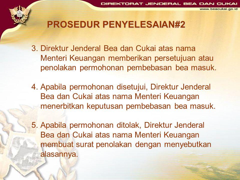 PROSEDUR PENYELESAIAN#2