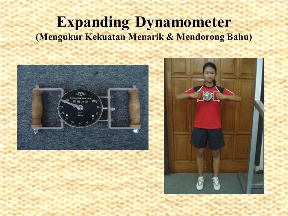 Expanding Dynamometer (Mengukur Kekuatan Menarik & Mendorong Bahu)