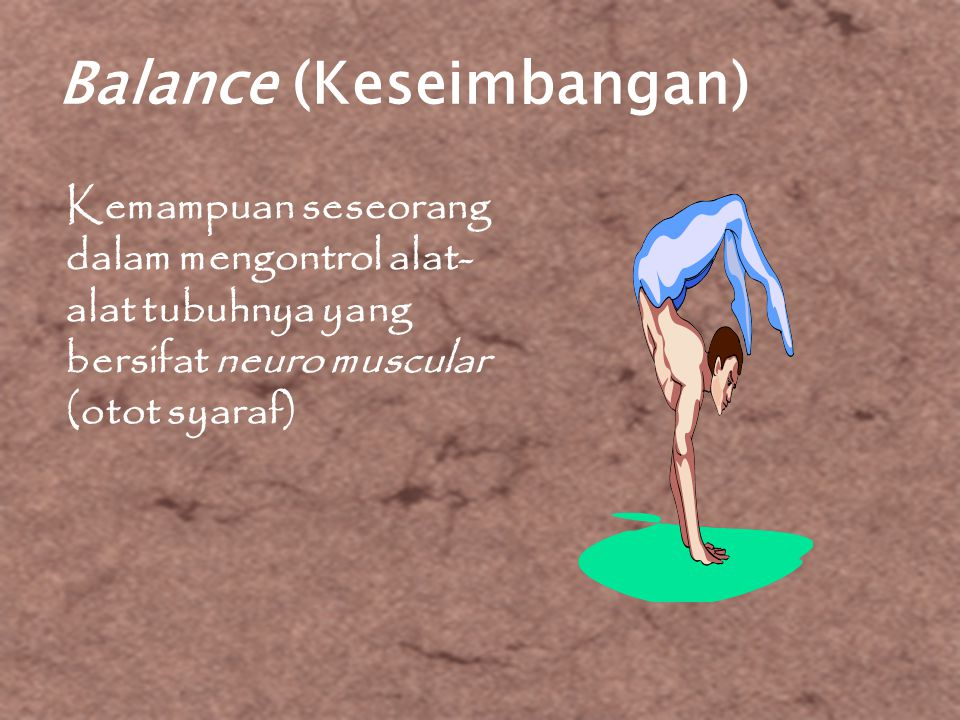 Balance (Keseimbangan)