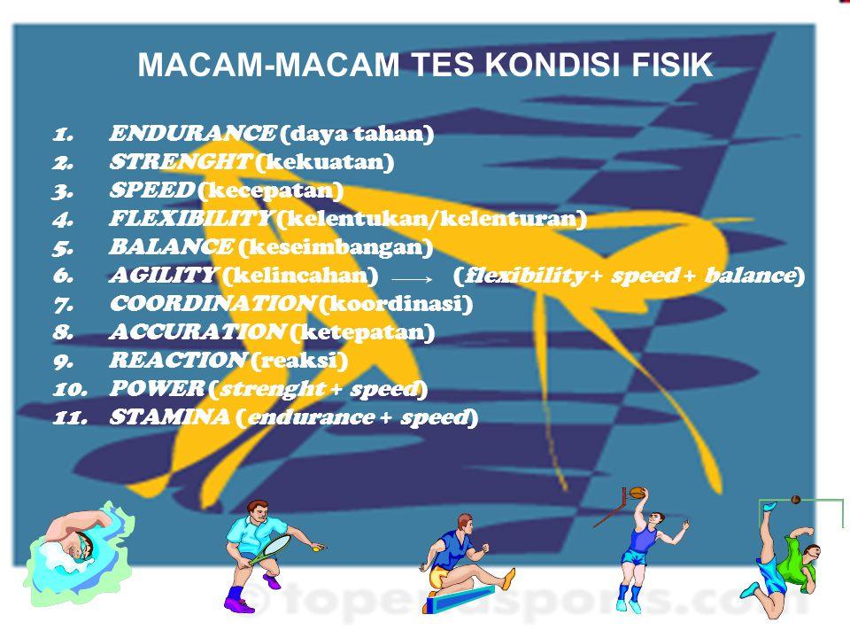 MACAM-MACAM TES KONDISI FISIK