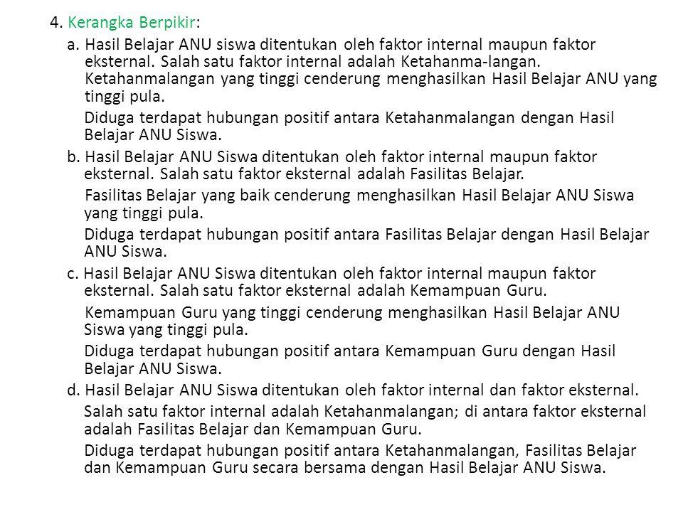 4. Kerangka Berpikir: