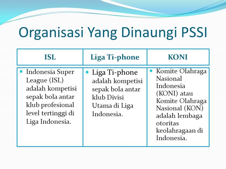 Organisasi Yang Dinaungi PSSI