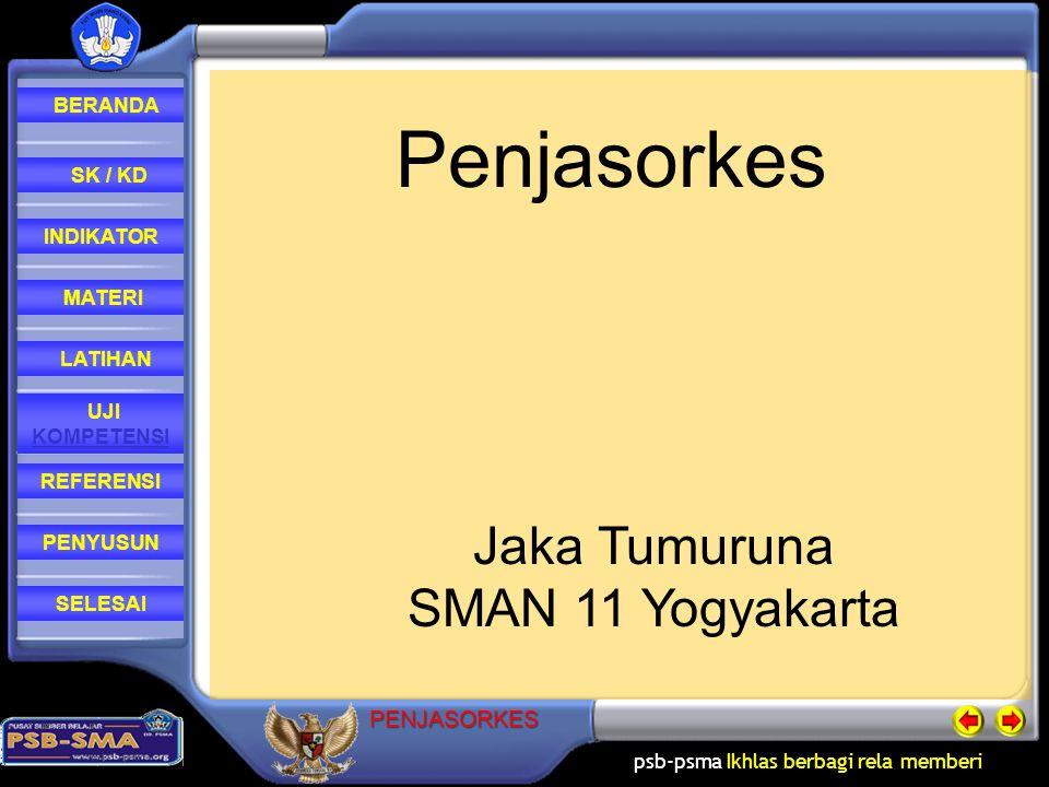 Penjasorkes Jaka Tumuruna SMAN 11 Yogyakarta