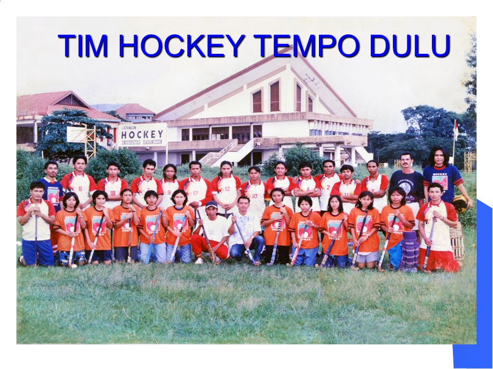 TIM HOCKEY TEMPO DULU