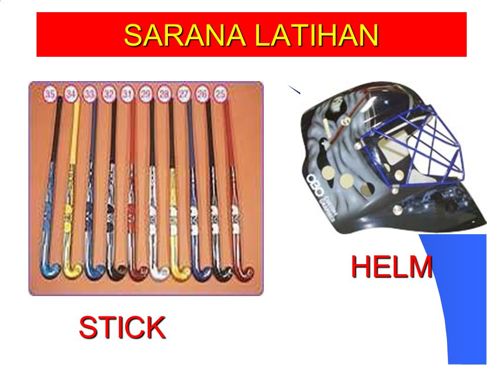 SARANA LATIHAN HELM STICK