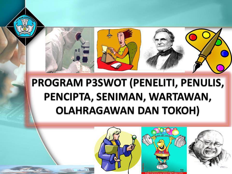 PROGRAM P3SWOT (PENELITI, PENULIS,