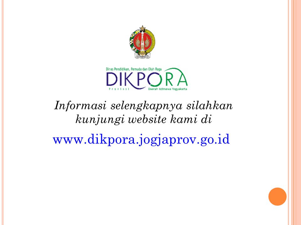 Informasi selengkapnya silahkan kunjungi website kami di