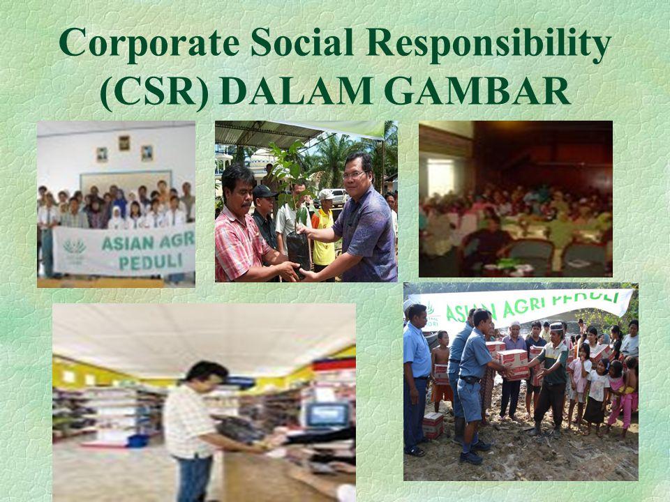 Corporate Social Responsibility (CSR) DALAM GAMBAR