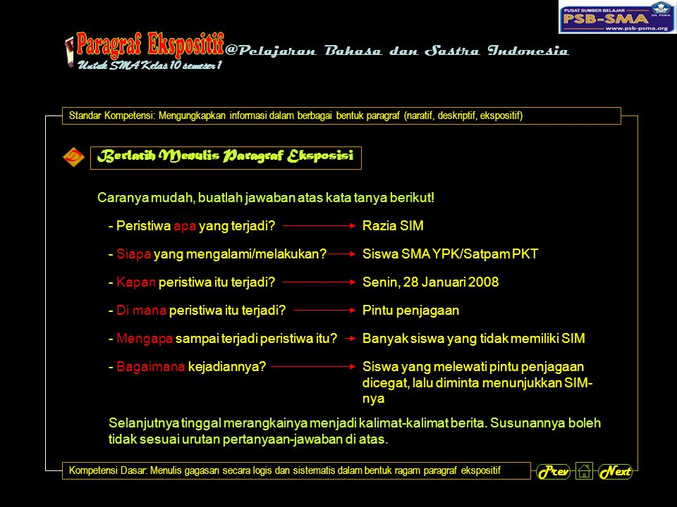 @Pelajaran Bahasa dan Sastra Indonesia