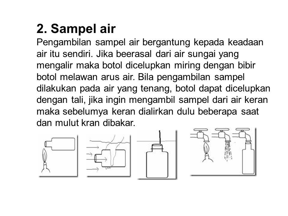 2. Sampel air