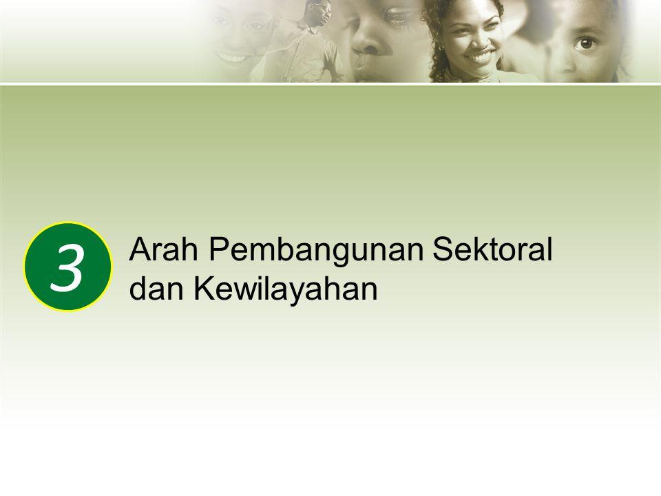 3 Arah Pembangunan Sektoral dan Kewilayahan